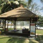 Beach Side Massage Hut