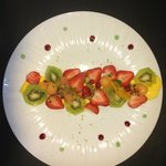 Le Carpaccio de fruits
