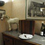 The white horse decor