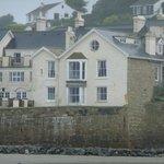 inn, from the beach