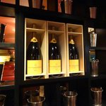 Bricktop's Champagne display