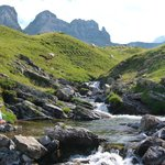 High mountain stream