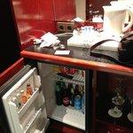 холодильник с напитками