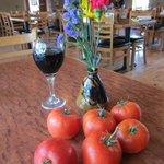 Fresh grown tomatoes