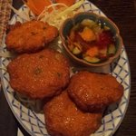 Thai Fishcakes (that sauce was heavenly)