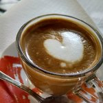 A Latte Macchiato made with love!