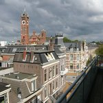 Blick von der Dachterrasse der suite