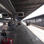 Estação de trem.
