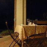 Cena nel patio di Cà Alfieri al 30