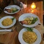 Mi segunda noche en La Saladilla. Riquísima cena