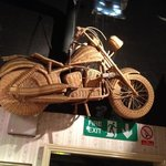 Steve McQueen made this while filming the great escape