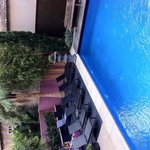 Corner of the pool