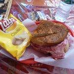 Friar's Bakehouse: Ham & Cheese Sandwich
