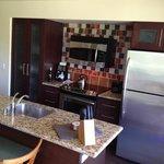 Enclaves kitchen.