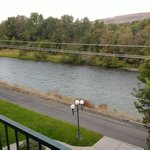The Yakima River view from a fourth floor room.