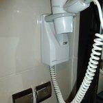 The hair dryer