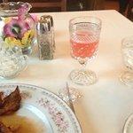 Delicious tasting rhubarb juice.