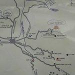 Los poblados que visitamos