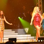 Shannon Zaller, Gretchen Kristine Stelzer and Michelle Meece light up the stage
