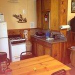 cabin 11, kitchen