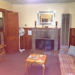 cabin 11, living area