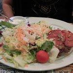 Parfait charolais avec salade