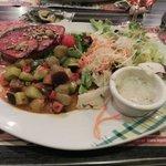Parfait charolais avec petits légumes