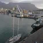 Table Mountain and Bay - view from our window