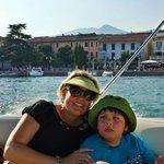 My nephew & I enjoying the cruise