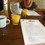 Excellent breakfast service..