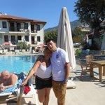 me + Michael @ Saray pool