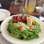 ahi tuna Caeser salad