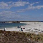 Grande plage de l'Ile St nicolas