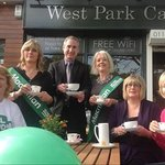 West Park Cafe supporting MacMillan Coffee Morning