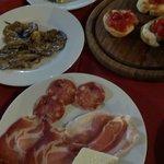 dinner-just antipasti part ;-)
