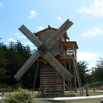 Russian style windmill at Fort Ross