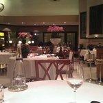 Inside dining at Seasons.