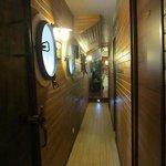 l'accès aux cabines