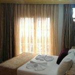 Pretty hotel room
