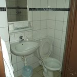 Small toilet / shower