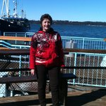 Outside on The Paddle Wheel deck