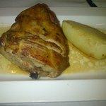 agnello con patate (1/2 porzione)