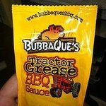 "Our Famous ""Tractor Grease"" BBQ Sauce!"