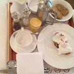 Yum wedding day breakfast