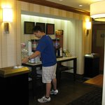Complimentary Beverage Station
