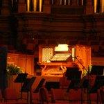The organ is impressive