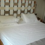 Lovely large bed