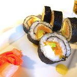 Maki : Saumon fume fruit dela passion