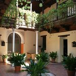 Courtyard near room