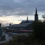 Blick auf den Kölner HBF